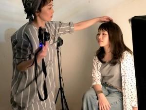ヘアスタイル撮影~バックヤード~ 仙台駅 美容室 Utata(ウタタ)