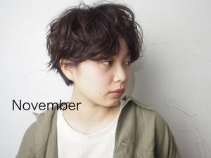 11月のお休みのお知らせ 仙台駅 美容室 Utata(ウタタ)