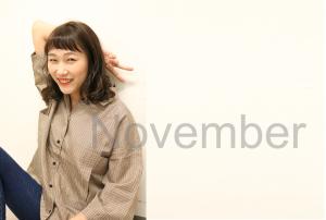 11月のお休み 泉中央駅 美容室 Utata (ウタタ)
